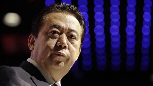 Meng Hongwei, el presidente de Interpol - Sputnik Việt Nam