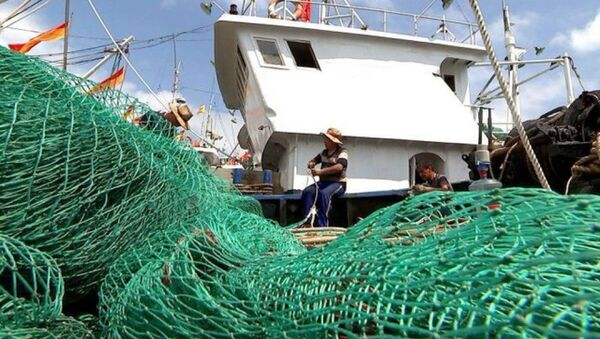 Các ngư dân trên tàu đánh cá Trung Quốc  - Sputnik Việt Nam