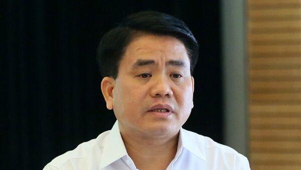 Chủ tịch UBND Hà Nội Nguyễn Đức Chung - Sputnik Việt Nam