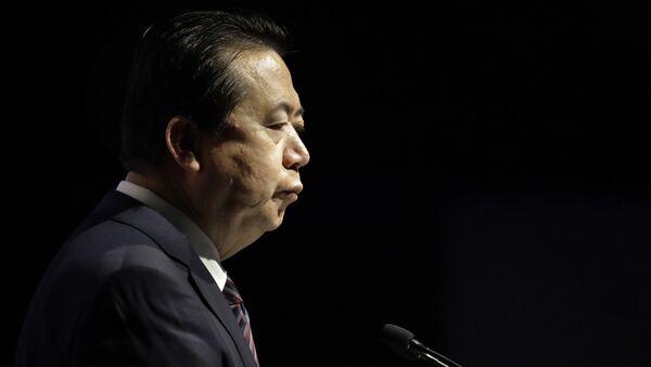 Chủ tịch Interpol Mạnh Hoành Vĩ (Meng Hongwei) - Sputnik Việt Nam