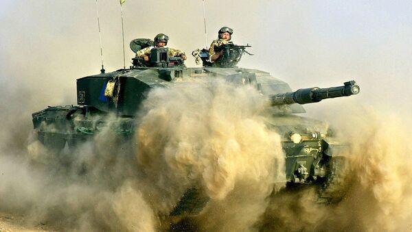 xe tăng Challenger của Anh - Sputnik Việt Nam