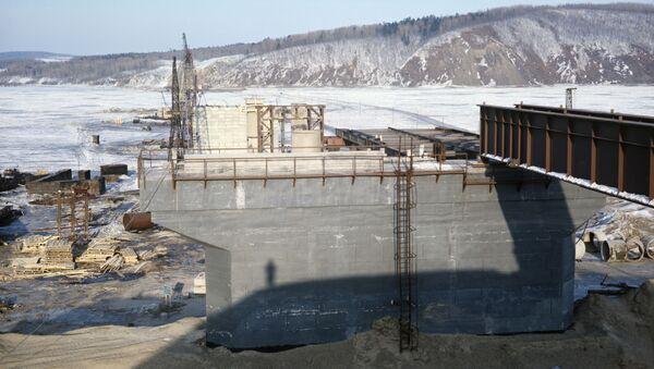 Строительство моста через Амур - Sputnik Việt Nam