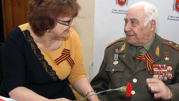 Anh hùng Liên Xô cuối cùng sống tại Crưm, Trung tướng Ashot Amatuni - Sputnik Việt Nam