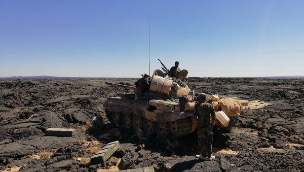 Quân đội Syria đánh bật các chiến binh khỏi thành trì núi lửa - Sputnik Việt Nam