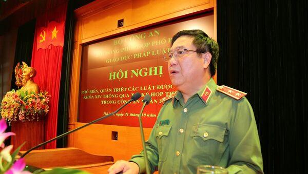Trung tướng, GS- TS Nguyễn Ngọc Anh - Sputnik Việt Nam