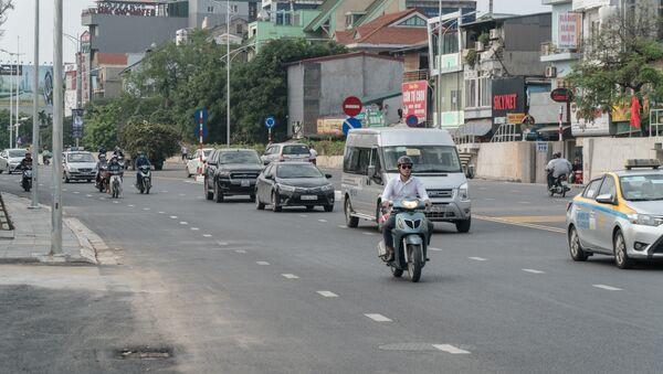 UBND TP Hà Nội đã chính thức thông xe cầu vượt tại nút giao An Dương - đường Thanh Niên - Sputnik Việt Nam