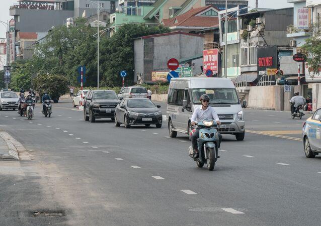 UBND TP Hà Nội đã chính thức thông xe cầu vượt tại nút giao An Dương - đường Thanh Niên