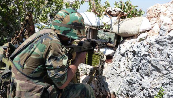 Quân nhân Syria - Sputnik Việt Nam