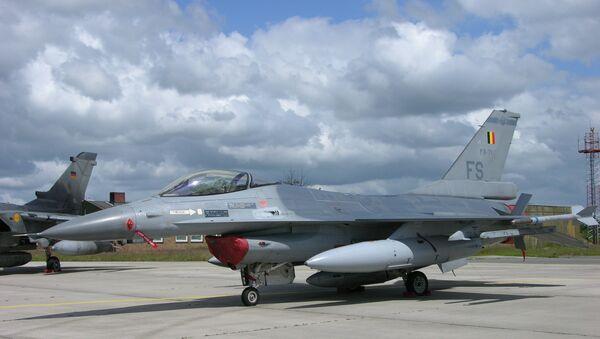 F-16 Belgian Air Force - Sputnik Việt Nam