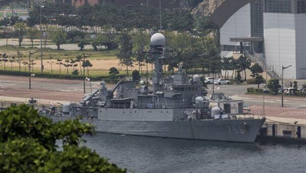 àu hộ vệ đa năng Jinhae thuộc phân lớp Pohang Flight IV đang trong tình trạng bảo quản - Sputnik Việt Nam
