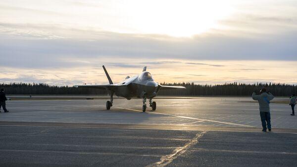 F-35A in Alaska - Sputnik Việt Nam