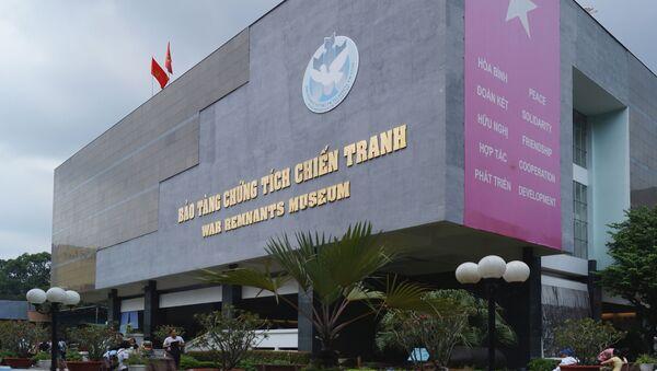 Bảo tàng chứng tích chiến tranh Việt Nam - Sputnik Việt Nam