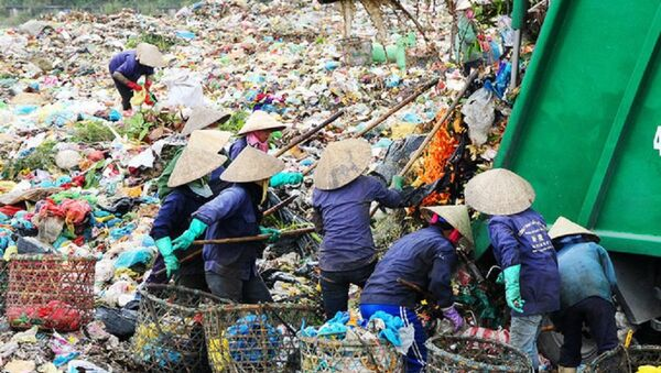 Bãi rác Khánh Sơn. - Sputnik Việt Nam