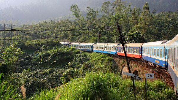 Tuyến đường sắt Thống Nhất của Việt Nam kết nối thành phố Hồ Chí Minh và Hà Nội - Sputnik Việt Nam