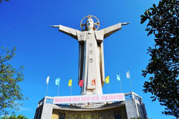 Vũng Tàu, Tượng Chúa Giê Su cao 32 m - Sputnik Việt Nam