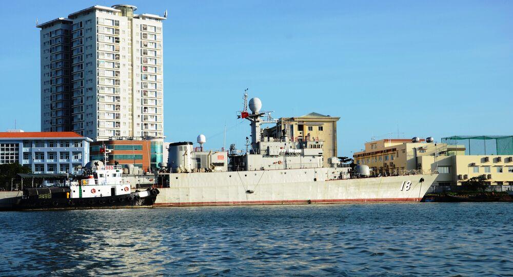 Chiến hạm săn ngầm lớp Pohang mang số hiệu 18 do Hàn Quốc trao tặng Hải quân Việt Nam, Vũng Tàu