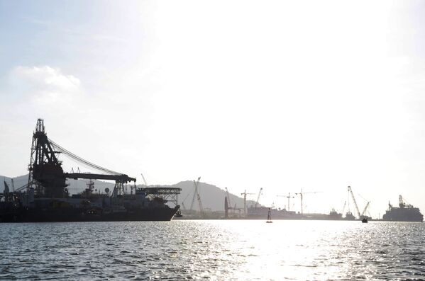 Bờ biển Vũng Tàu lúc hoàng hôn - Sputnik Việt Nam