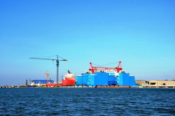 Sửa chữa tàu biển ở Vũng Tàu - Sputnik Việt Nam