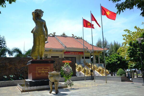 Công viên, tượng đài và đền thờ nữ anh hùng liệt sĩ Võ Thị Sáu - Sputnik Việt Nam