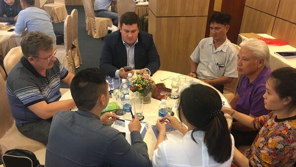 Sứ mệnh doanh nghiệp của tỉnh Tyumen tại Việt Nam - Sputnik Việt Nam