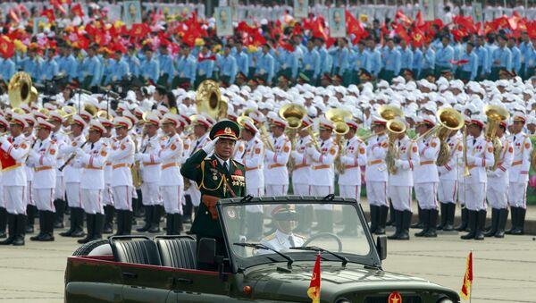 Duyệt binh kỷ niệm lần thứ 70 ngày Quốc khánh Việt Nam - Sputnik Việt Nam