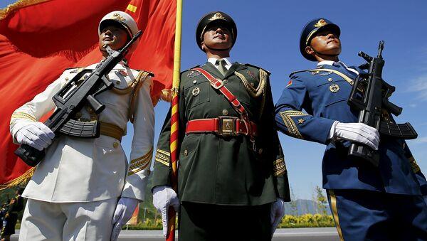 Buổi diễn tập cuộc duyệt binh ở Bắc Kinh - Sputnik Việt Nam