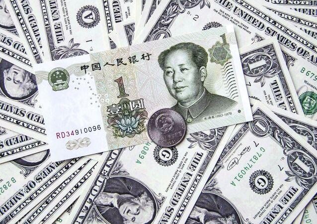 đô la và nhân dân tệ