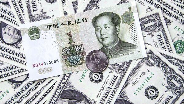 đô la và nhân dân tệ - Sputnik Việt Nam