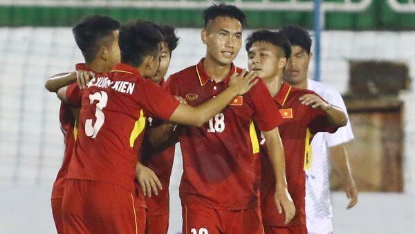 U19 Việt Nam thua ngược U19 Jordan - Sputnik Việt Nam