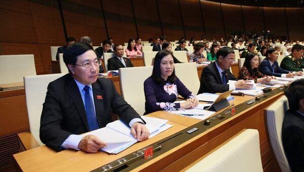 Phó Thủ tướng Phạm Bình Minh và các đại biểu dự họp - Sputnik Việt Nam