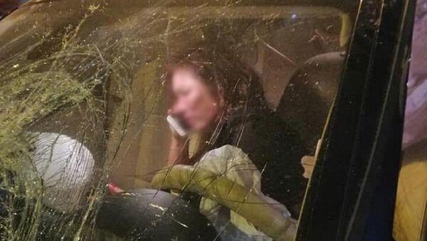 Nữ tài xế BMW gây tai nạn - Sputnik Việt Nam
