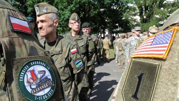 Quân đội Hoa Kỳ và Ba Lan - Sputnik Việt Nam