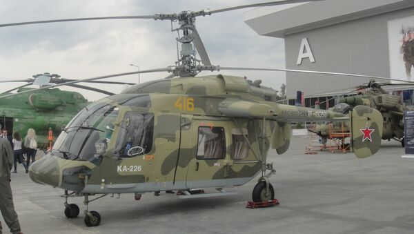"""Máy bay trực thăng hạng nhẹ """"trụ sở chỉ huy"""" chở khách-liên lạc Ka-226.80  - Sputnik Việt Nam"""