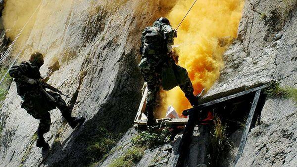 Военнослужащие группы специального назначения Пакистана во время учений - Sputnik Việt Nam