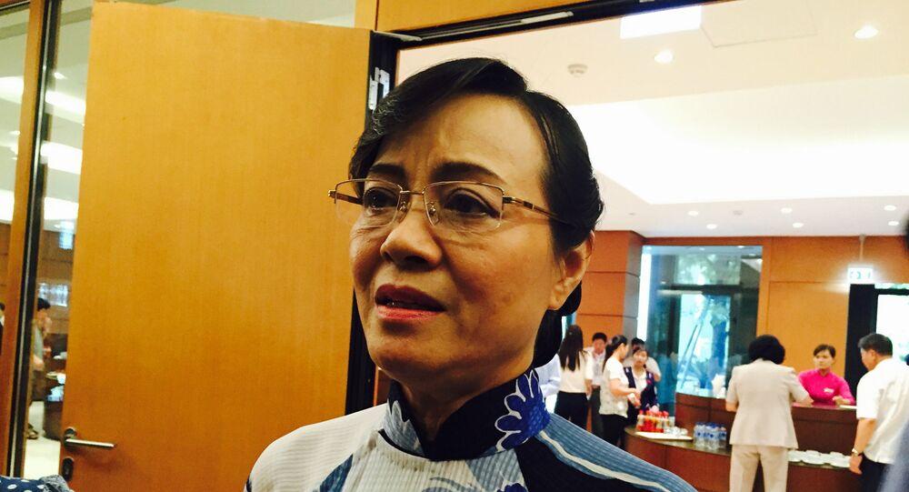 Bà Nguyễn Thị Quyết Tâm