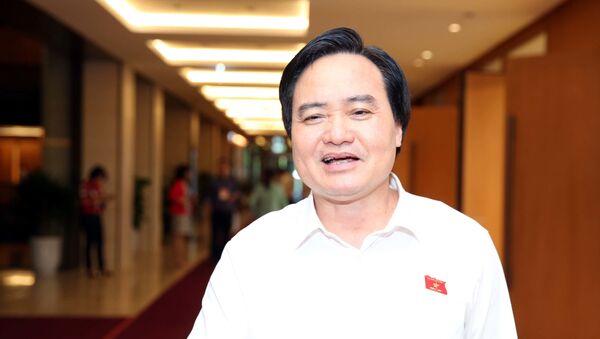 Bộ trưởng GD-ĐT Phùng Xuân Nhạ - Sputnik Việt Nam