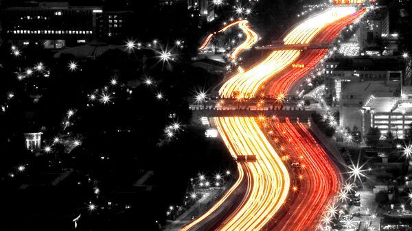 Ô tô lưu thông ở Atlanta, Hoa Kỳ - Sputnik Việt Nam