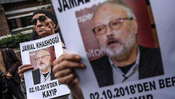 Nhà báo Ảrập Xêút Jamal Khashoggi - Sputnik Việt Nam