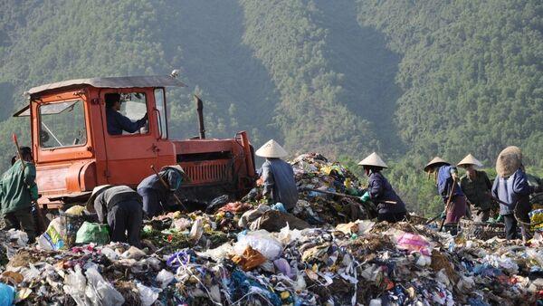 Bãi rác ở Đà Nẵng - Sputnik Việt Nam