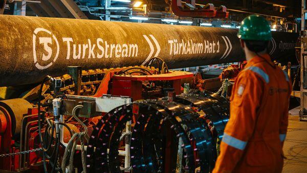 Dòng chảy Thổ Nhĩ Kỳ - Sputnik Việt Nam