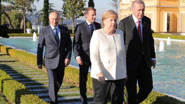 Hội nghị thượng đỉnh Istanbul về Syria - Sputnik Việt Nam