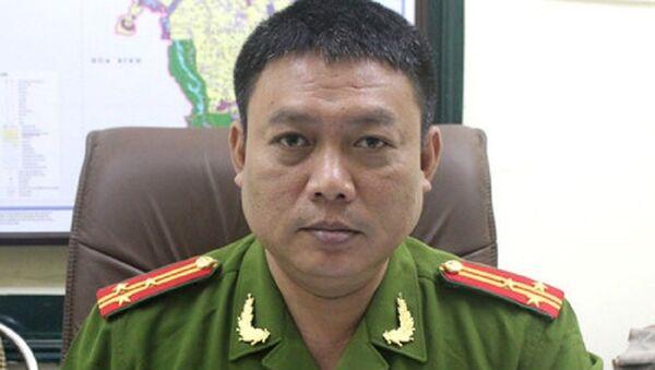 Thượng tá Đào Anh Tuấn - Sputnik Việt Nam