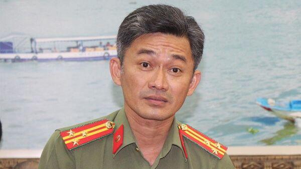 Thượng tá Trần Văn Dương thông tin về vụ việc - Sputnik Việt Nam