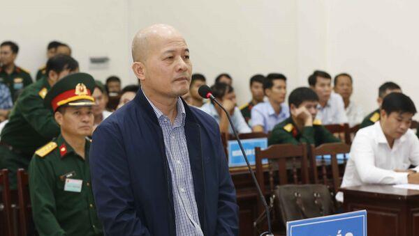 Bị cáo Đinh Ngọc Hệ khai báo tại phiên xét xử phúc thẩm. - Sputnik Việt Nam