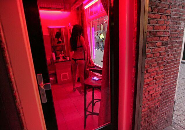 """""""Phố đèn lồng đỏ"""" ở Amsterdam"""