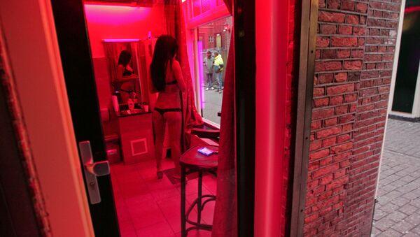 """""""Phố đèn lồng đỏ"""" ở Amsterdam - Sputnik Việt Nam"""