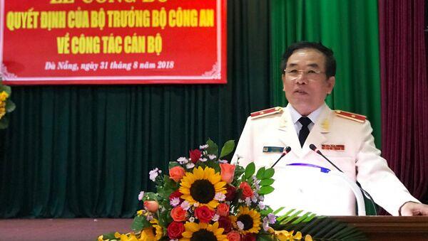 Thiếu tướng Vũ Xuân Viên Giám đốc Công an Đà Nẵng - Sputnik Việt Nam