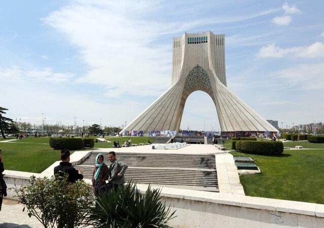 Quảng trường Tự do ở Tehran