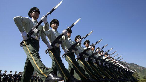Buổi diễn tập duyệt binh ở Bắc Kinh - Sputnik Việt Nam