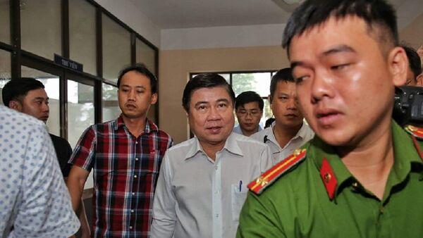Ông Nguyễn Thành Phong, Chủ tịch UBND TP.HCM - Sputnik Việt Nam